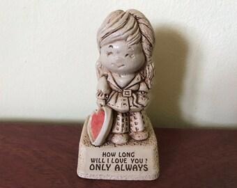 Vintage 1970 Paula Figurine-How Long Will I Love You
