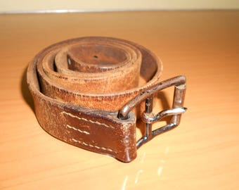 Swiss Military Leather Belt 1937