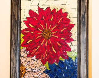 Mosaic Dahlias