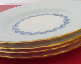 Cheviot Blue by Minton Bread Plates (4)