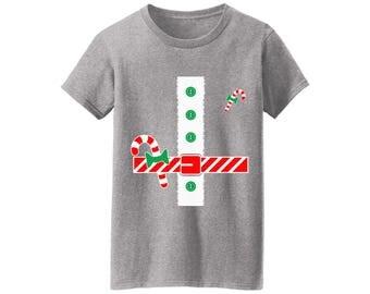 Santa Costume Tshirt Christmas Santa Costume Shirt for Women Women's Santa Costume Shirt Ugly Christmas Tshirts for Women Xmas Costume Shirt