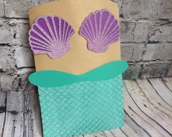 8 Mermaid goody bags  under the sea birthday gift bags