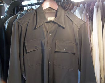 WW 2 Officers Gaberdine shirt
