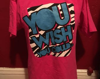 WWE Dolph Ziggler Pink T-Shirt M Show Off NXT