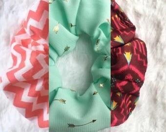 Handmade Scrunchies (3 options)