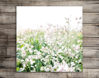 Printable Nursery Wall Art, Flower Print, Wildflower Photography, Garden Photo, Digital Download