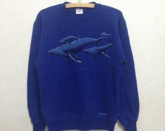 Vintage 90's Crazy Shirt Hawaii Sweatshirts