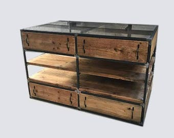 Reclaimed Retail Display Unit - Industrial