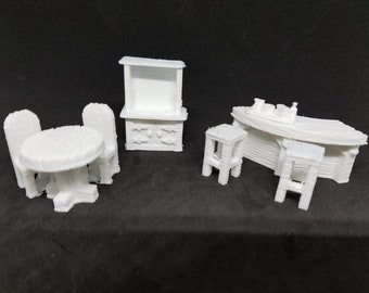 Pub Set - 3D Printed 28mm Scale
