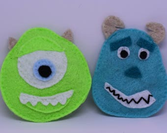 Mike and Sully from Disney's Monsters Inc Catinip Toy