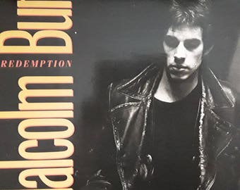 Malcolm Burn - Redemption  1988 (Vinyl)