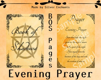 BOS Pages - Evening Prayer