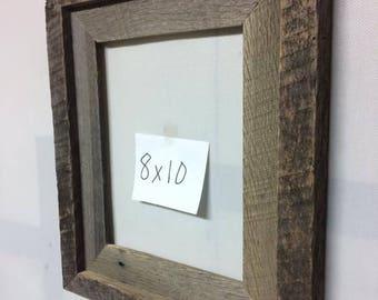 8x10 Barn Wood Frame