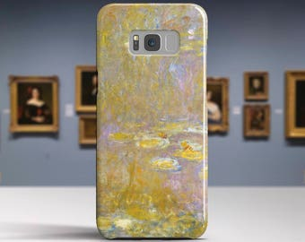"Claude Monet, ""Sea-Roses"". Samsung Galaxy S8 Case LG V30 case Google Pixel Case Galaxy J7 2017 Case and more. Art phone cases."