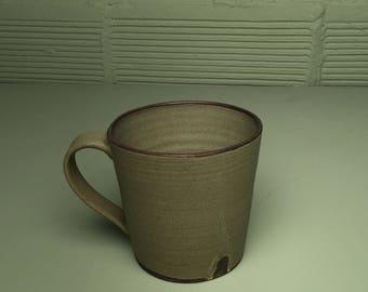 Large Mug in Lush Green Glaze