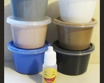 4oz Slime various colours