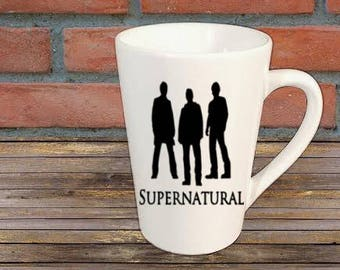 Supernatural Horror Mug Coffee Cup Gift Home Decor Kitchen Bar Gift for Her Him Any Color Personalized Custom