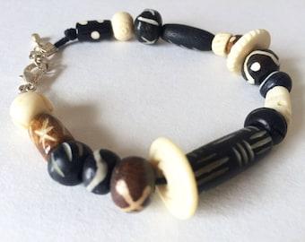 Tribal Beaded Bracelet