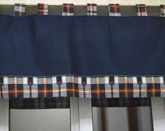 Plaid Valance Buffalo Plaid Kitchen Curtains Kitchen