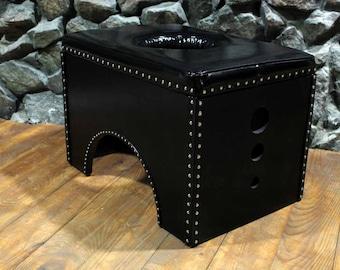 ADULT - BDSM Queening Chair / golden rain / femdom / mistress / human toilet / bdsm furniture / dungeon / bdsm gear / sex furniture