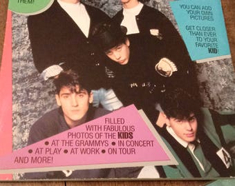 Vintage New Kids on the Block Scrapbook, 1990, NKOTB