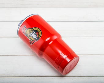 Ottawa Senators YETI Cup Ottawa Senators Cup Ottawa Senators Birthday Ottawa Senators Gift Ottawa Senators Party OttawaSenators YETI Tumbler