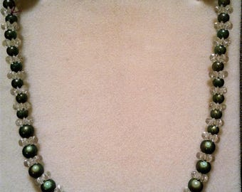 Neon Green Necklace #115