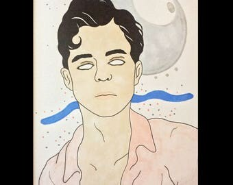 Surrealism Illustrated Pop Art Print