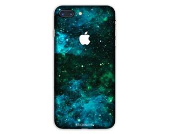 Galaxy iPhone Skin stars iPhone Sticker Case space iPhone Decal Nebula iPhone 7  plus iPhone 6 iPhone 6s 6 plus 5 5s SE PS015