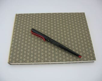 Book square canvas to Japanese patterns