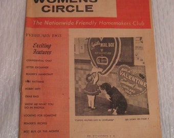 WOMENS CIRCLE magazine from 1963