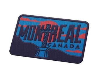 Montreal, Quebec Travel Patch