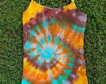 One of a Kind Tie Dye/Rain Dye Tank Top