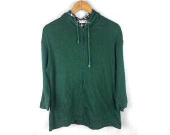 KLEIN PLUS HOMME  Hoodies Nice Condition Green Colour Hoodies Small Size