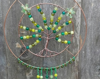 One of a kind Tree sun catcher