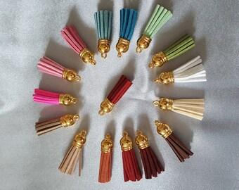 Tassels tassels Brown pendants