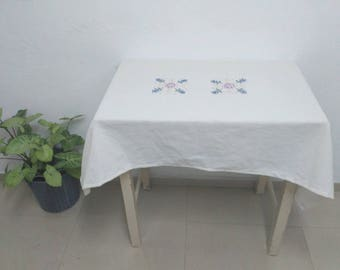 Personalized Tablecloth Linen Tablecloth Coustomized Tablecloth Table Cover Custom Made Tablecloth Hand Crafted Tablecloth