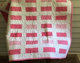 Baby quilt, Play Mat, Stroller, Modern, Nursery,