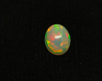 Christmas Sale 30% Off Natural Ethiopian Opal Smooth Cabochon Oval Shape Size 8x10 mm, Whole Sale Price CODE OTC#11