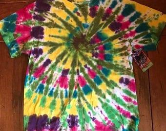 Swirl tie dye t-shirt