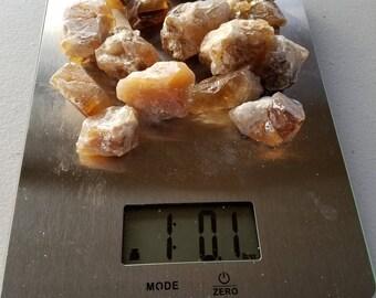 The Lifting, Bulk Stones: Lot 4 - 1 Pound of Honey Calcite