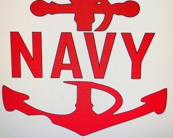 Navy Veteran Decal