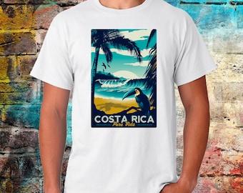 Costa Rica, Costa Rican Clothing, Costa Rica Shirt, Costa Rica T Shirt, Costa Rica TShirt, worldwide shipping