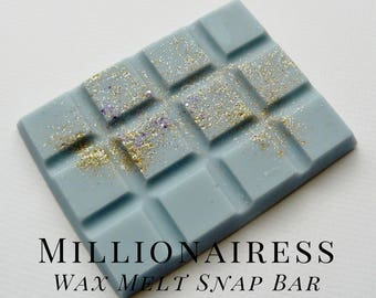 Soy Wax Melts, Millionairess, Scented Wax Tart, Soy Wax, Home Fragrance,