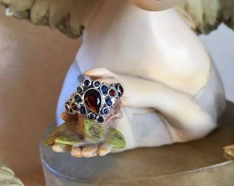 MultiStone Sterling Silver Ring