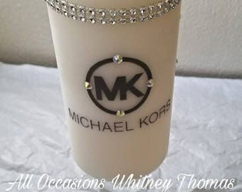Michael kors inspired designer  candle