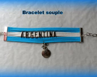 Global 2018 football World Cup from the ARGENTINA bracelet