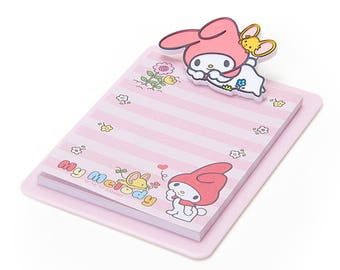 My Melody Mini Clipboard & Memo KAWAII SANRIO from Japan
