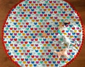 Rainbow cats Playmat / Nursery / Decor