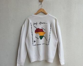 Vintage Surf Africa Jamaica Style Sweatshirt Nice Design